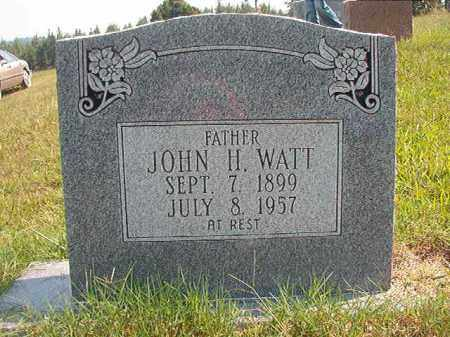 WATT, JOHN H - Dallas County, Arkansas | JOHN H WATT - Arkansas Gravestone Photos
