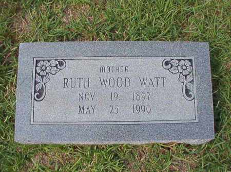 WATT, RUTH - Dallas County, Arkansas | RUTH WATT - Arkansas Gravestone Photos