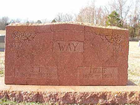 WAY, LIZZIE - Dallas County, Arkansas | LIZZIE WAY - Arkansas Gravestone Photos