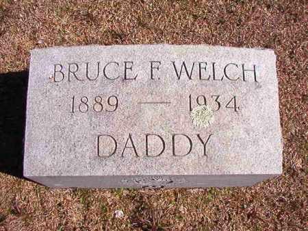 WELCH, BRUCE F - Dallas County, Arkansas | BRUCE F WELCH - Arkansas Gravestone Photos