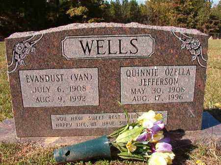 WELLS, EVANDUST (VAN) - Dallas County, Arkansas | EVANDUST (VAN) WELLS - Arkansas Gravestone Photos