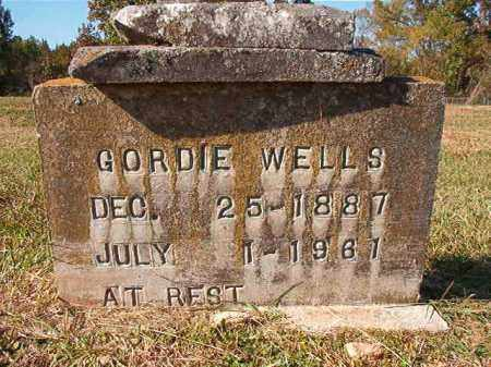 WELLS, GORDIE - Dallas County, Arkansas | GORDIE WELLS - Arkansas Gravestone Photos