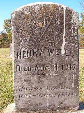 WELLS, HENRY - Dallas County, Arkansas | HENRY WELLS - Arkansas Gravestone Photos