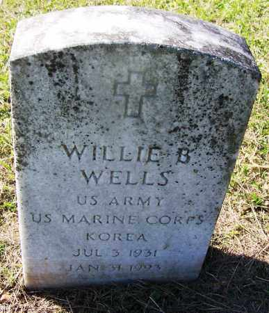 WELLS (VETERAN KOR), WILLIE B - Dallas County, Arkansas | WILLIE B WELLS (VETERAN KOR) - Arkansas Gravestone Photos