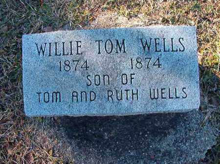 WELLS, WILLIE TOM - Dallas County, Arkansas | WILLIE TOM WELLS - Arkansas Gravestone Photos
