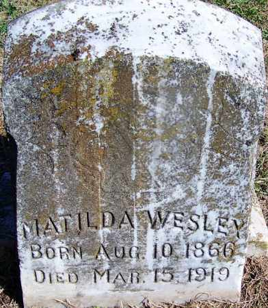 WESLEY, MATILDA - Dallas County, Arkansas | MATILDA WESLEY - Arkansas Gravestone Photos