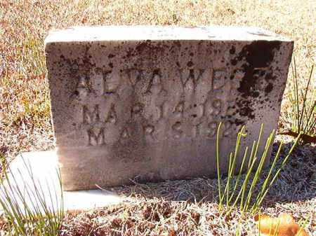 WEST, ALVA - Dallas County, Arkansas | ALVA WEST - Arkansas Gravestone Photos