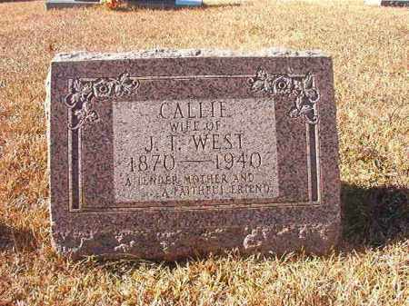 WEST, CALLIE - Dallas County, Arkansas | CALLIE WEST - Arkansas Gravestone Photos