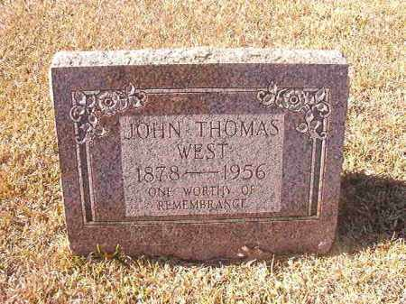 WEST, JOHN THOMAS - Dallas County, Arkansas | JOHN THOMAS WEST - Arkansas Gravestone Photos