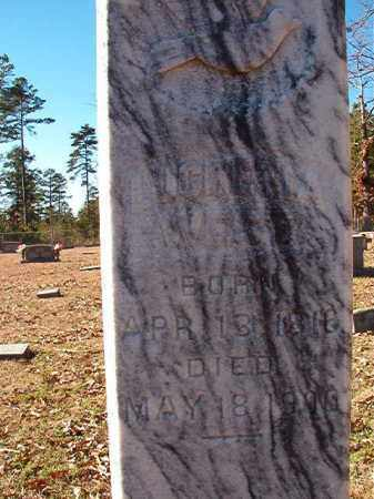 WEST, LUCRETIA - Dallas County, Arkansas | LUCRETIA WEST - Arkansas Gravestone Photos
