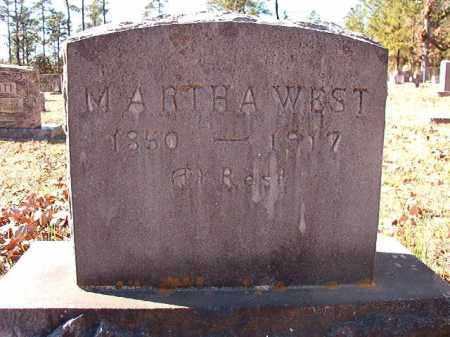WEST, MARTHA - Dallas County, Arkansas | MARTHA WEST - Arkansas Gravestone Photos