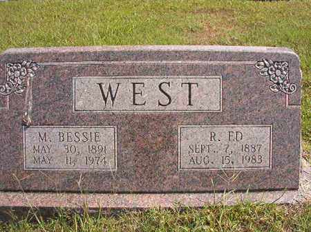 WEST, M BESSIE - Dallas County, Arkansas | M BESSIE WEST - Arkansas Gravestone Photos