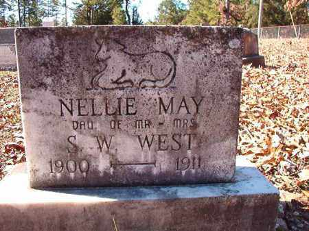 WEST, NELLIE MAY - Dallas County, Arkansas | NELLIE MAY WEST - Arkansas Gravestone Photos