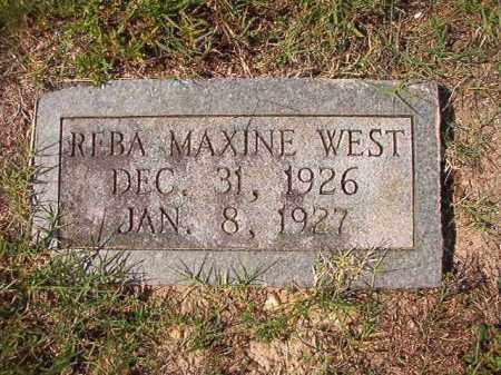 WEST, REBA MAXINE - Dallas County, Arkansas | REBA MAXINE WEST - Arkansas Gravestone Photos