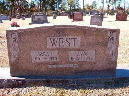 WEST, DAVE - Dallas County, Arkansas | DAVE WEST - Arkansas Gravestone Photos