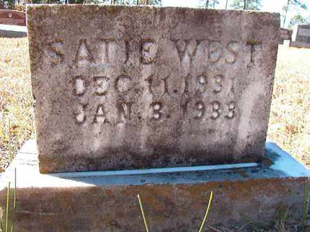 WEST, SATIE - Dallas County, Arkansas | SATIE WEST - Arkansas Gravestone Photos