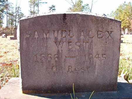 WEST, SAMUEL ALEX - Dallas County, Arkansas | SAMUEL ALEX WEST - Arkansas Gravestone Photos