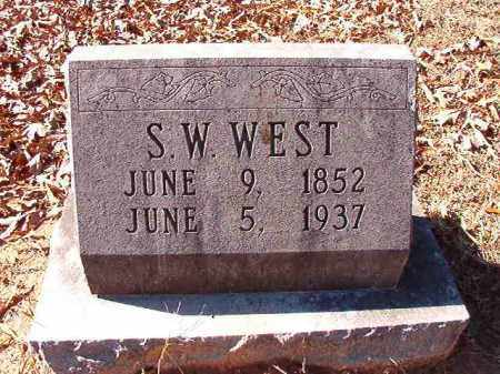 WEST, S W - Dallas County, Arkansas | S W WEST - Arkansas Gravestone Photos