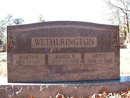 WETHERINGTON, ANNIE - Dallas County, Arkansas | ANNIE WETHERINGTON - Arkansas Gravestone Photos