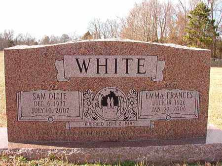 WHITE, SAM OLLIE - Dallas County, Arkansas | SAM OLLIE WHITE - Arkansas Gravestone Photos