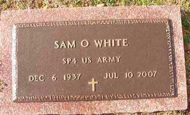 WHITE (VETERAN), SAM O - Dallas County, Arkansas | SAM O WHITE (VETERAN) - Arkansas Gravestone Photos