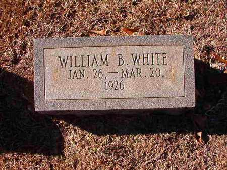 WHITE, WILLIAM B - Dallas County, Arkansas | WILLIAM B WHITE - Arkansas Gravestone Photos