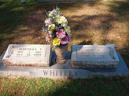 WHITLEY, MARSHALL T - Dallas County, Arkansas | MARSHALL T WHITLEY - Arkansas Gravestone Photos