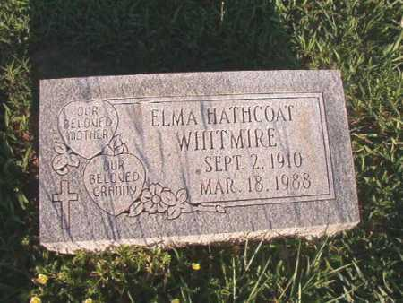 HATHCOAT WHITMIRE, ELMA - Dallas County, Arkansas | ELMA HATHCOAT WHITMIRE - Arkansas Gravestone Photos