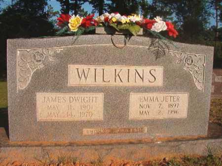 JETER WILKINS, EMMA - Dallas County, Arkansas | EMMA JETER WILKINS - Arkansas Gravestone Photos