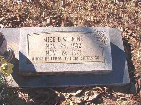 WILKINS, MIKE D - Dallas County, Arkansas | MIKE D WILKINS - Arkansas Gravestone Photos