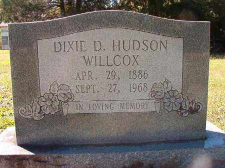 WILLCOX, DIXIE D - Dallas County, Arkansas | DIXIE D WILLCOX - Arkansas Gravestone Photos