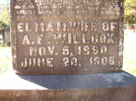 WILLCOX, ELMA M - Dallas County, Arkansas | ELMA M WILLCOX - Arkansas Gravestone Photos