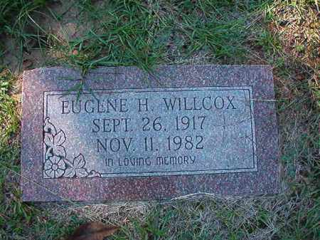 WILLCOX, EUGENE H - Dallas County, Arkansas | EUGENE H WILLCOX - Arkansas Gravestone Photos
