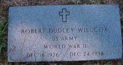 WILLCOX (VETERAN WWII), ROBERT DUDLEY - Dallas County, Arkansas | ROBERT DUDLEY WILLCOX (VETERAN WWII) - Arkansas Gravestone Photos