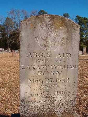 WILLIAMS, ARGIE - Dallas County, Arkansas | ARGIE WILLIAMS - Arkansas Gravestone Photos