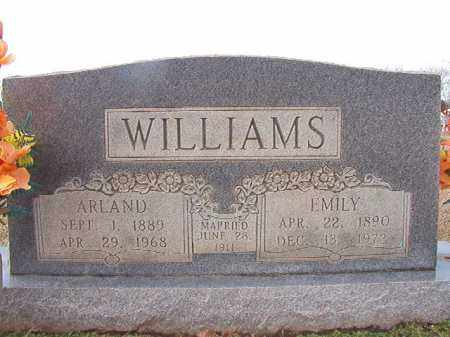 WILLIAMS, ARLAND - Dallas County, Arkansas | ARLAND WILLIAMS - Arkansas Gravestone Photos