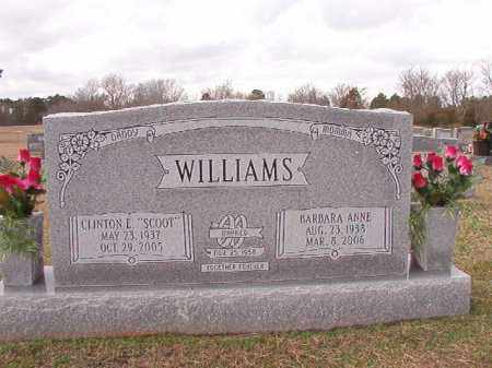 WILLIAMS, BARBARA ANNE - Dallas County, Arkansas | BARBARA ANNE WILLIAMS - Arkansas Gravestone Photos