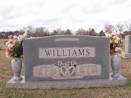 WILLIAMS, DONALD C - Dallas County, Arkansas | DONALD C WILLIAMS - Arkansas Gravestone Photos
