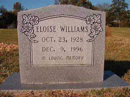 WILLIAMS, ELOISE - Dallas County, Arkansas | ELOISE WILLIAMS - Arkansas Gravestone Photos