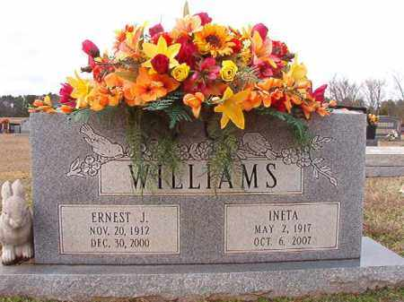 WILLIAMS, ERNEST J - Dallas County, Arkansas | ERNEST J WILLIAMS - Arkansas Gravestone Photos