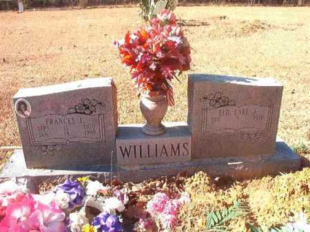 WILLIAMS, EARL J - Dallas County, Arkansas | EARL J WILLIAMS - Arkansas Gravestone Photos