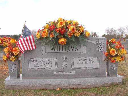 "WILLIAMS, GEORGE A ""RED"" - Dallas County, Arkansas 