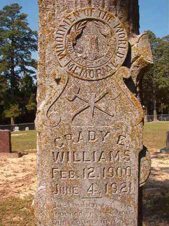 WILLIAMS, GRADY E - Dallas County, Arkansas | GRADY E WILLIAMS - Arkansas Gravestone Photos