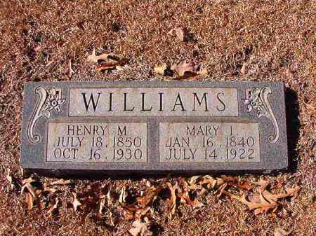 WILLIAMS, MARY I - Dallas County, Arkansas | MARY I WILLIAMS - Arkansas Gravestone Photos