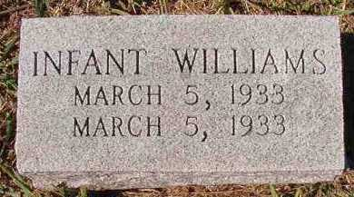 WILLIAMS, INFANT - Dallas County, Arkansas | INFANT WILLIAMS - Arkansas Gravestone Photos