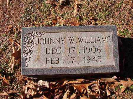 WILLIAMS, JOHNNY W - Dallas County, Arkansas | JOHNNY W WILLIAMS - Arkansas Gravestone Photos