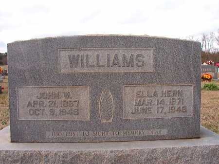 WILLIAMS, JOHN W - Dallas County, Arkansas | JOHN W WILLIAMS - Arkansas Gravestone Photos