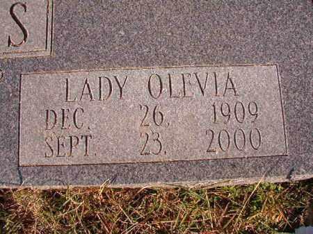WILLIAMS, LADY OLEVIA - Dallas County, Arkansas   LADY OLEVIA WILLIAMS - Arkansas Gravestone Photos