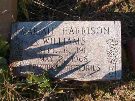 HARRISON WILLIAMS, MARIAH - Dallas County, Arkansas | MARIAH HARRISON WILLIAMS - Arkansas Gravestone Photos
