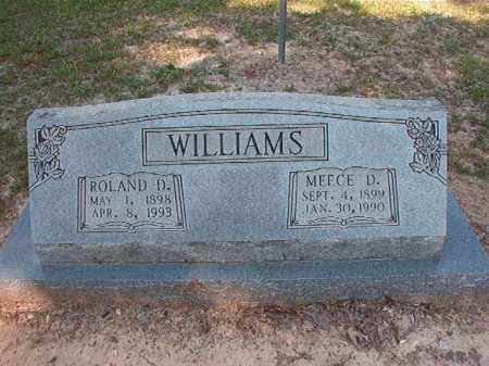 WILLIAMS, ROLAND D - Dallas County, Arkansas | ROLAND D WILLIAMS - Arkansas Gravestone Photos